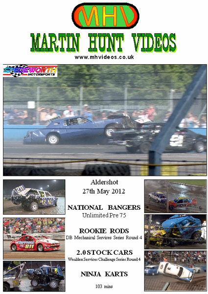 Aldershot 27th May 2012 Pre 75 Bangers
