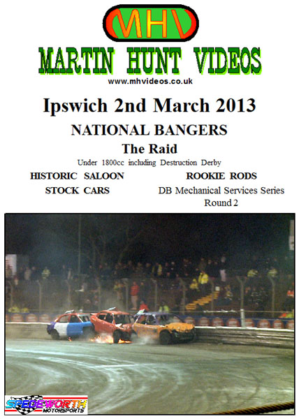 Ipswich 2nd March 2013 National Bangers The Raid