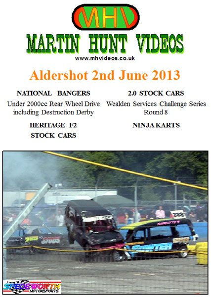 Aldershot 2nd June 2013 Nat Bangers All Rear Wheel Drive