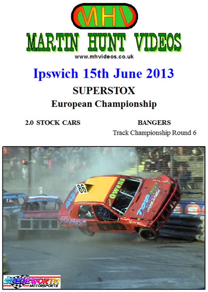 Ipswich 15th June 2013 Superstox European