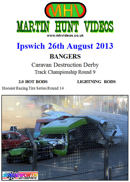 Ipswich 26th August 2013 Caravan Destruction Derby