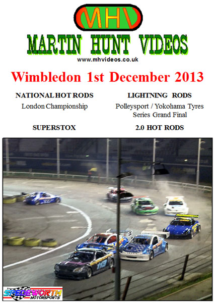 Wimbledon 1st December 2013 National Hot Rods