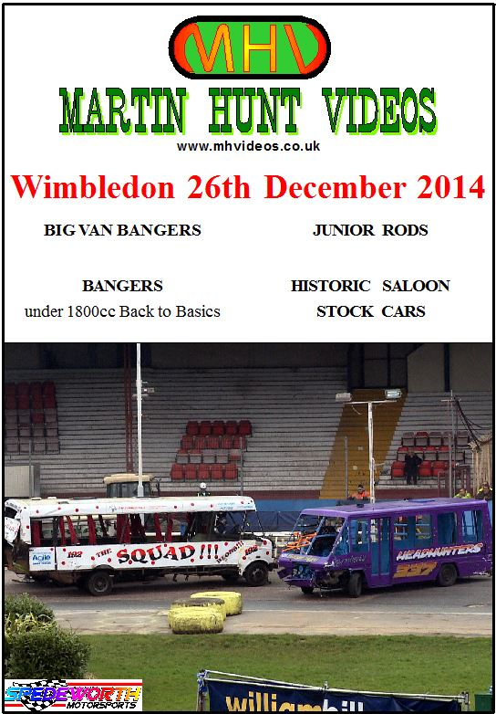 Wimbledon 26th December 2014 Big Van Bangers