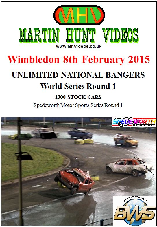 Wimbledon 8th February 2015 Unlimited Nat Bangers World Series