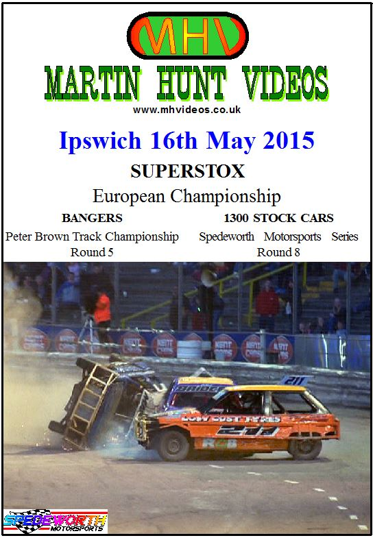 Ipswich 16th May 2015 Superstox European Championship