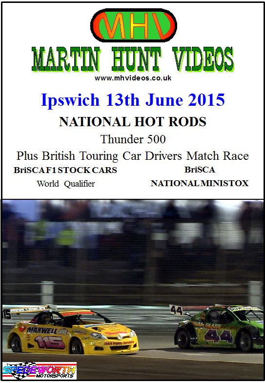 Ipswich 13th June 2015 Nat Rods Thunder 500