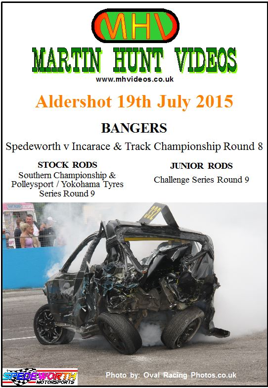 Aldershot 19th July 2015 Spedeworth v Incarace Team Racing