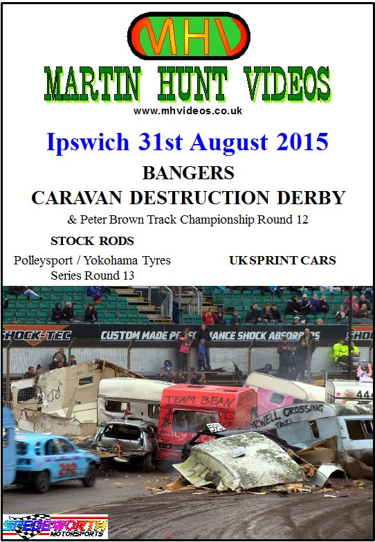 Ipswich 31st August 2015 Caravan Destruction Derby