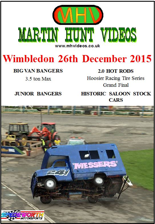 Wimbledon 26th December 2015 Big Van Bangers