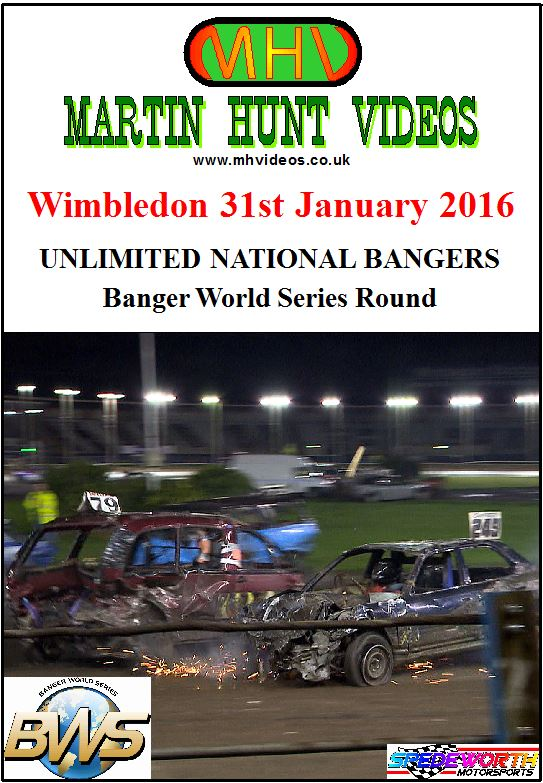 Wimbledon 31st January 2016 Unlimited Nat Banger World Series