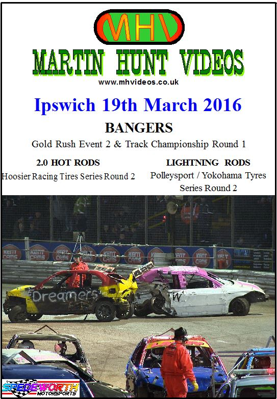 Ipswich 19th March 2016 Bangers Gold Rush
