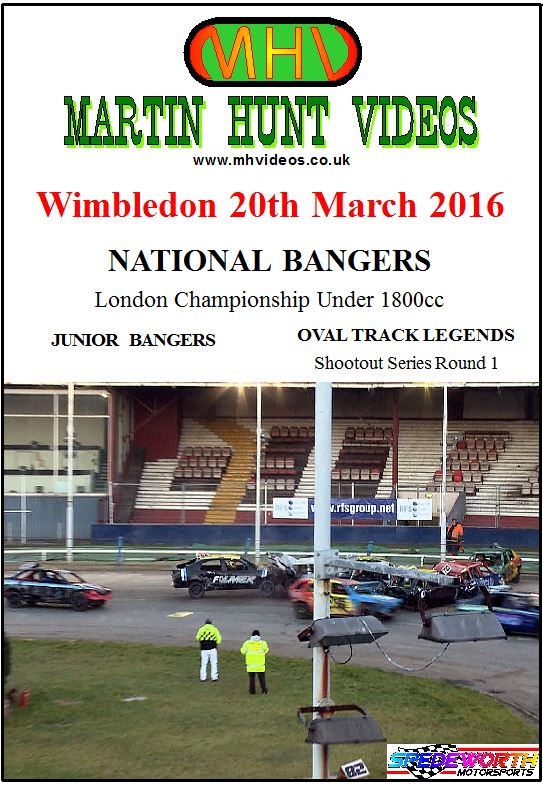Wimbledon 20th March 2016 National Bangers London Championship