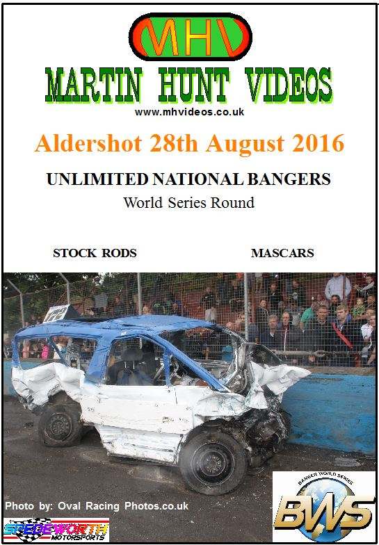 Aldershot 28th August 2016 National Bangers World Series