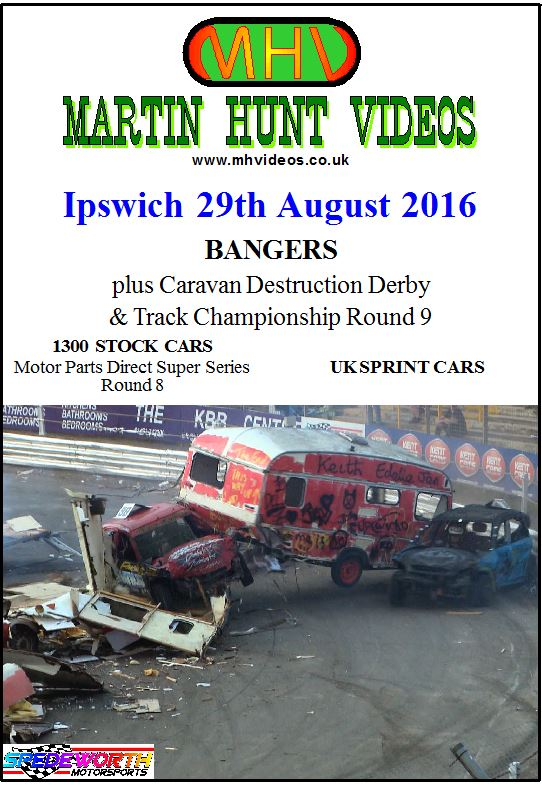 Ipswich 29th August 2016 Caravan Destruction Derby