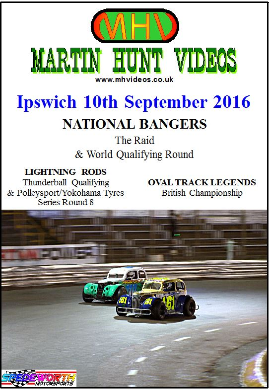Ipswich 10th September 2016 The Raid