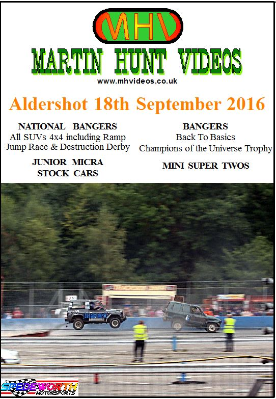Aldershot 18th September 2016