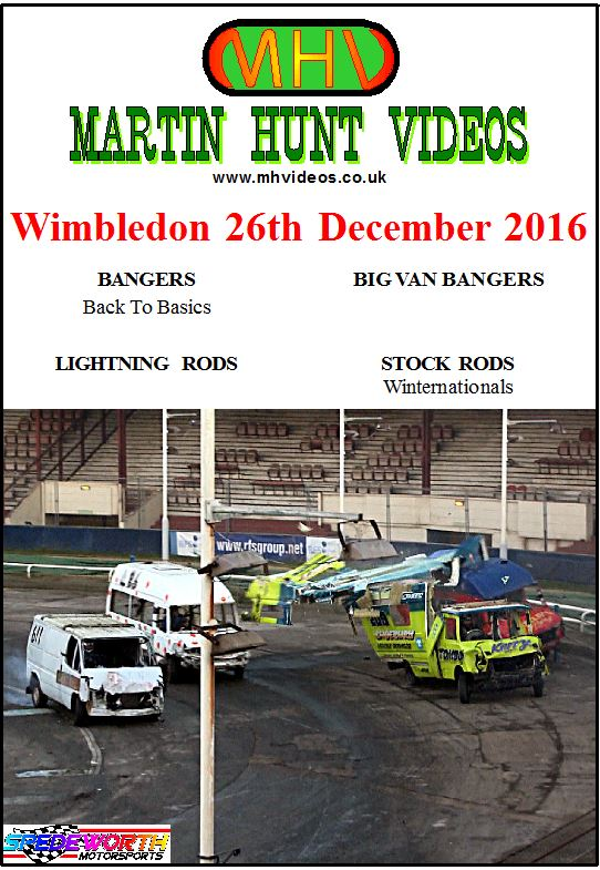Wimbledon 26th December 2016 Big Van Bangers
