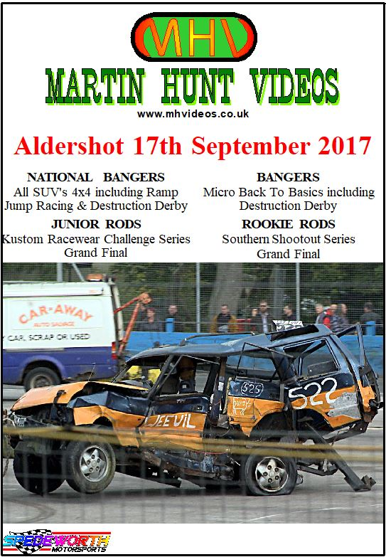 Aldershot 17th September 2017
