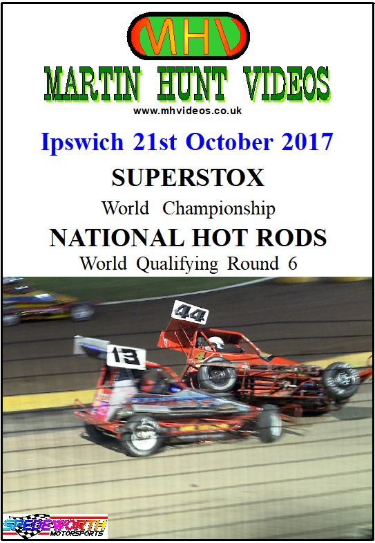 Ipswich 21st October 2017 Superstox World Final