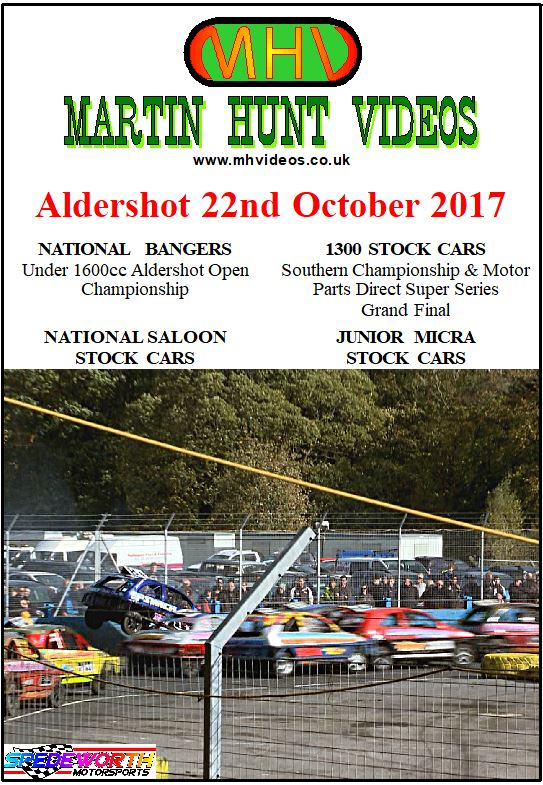 Aldershot 22nd October 2017
