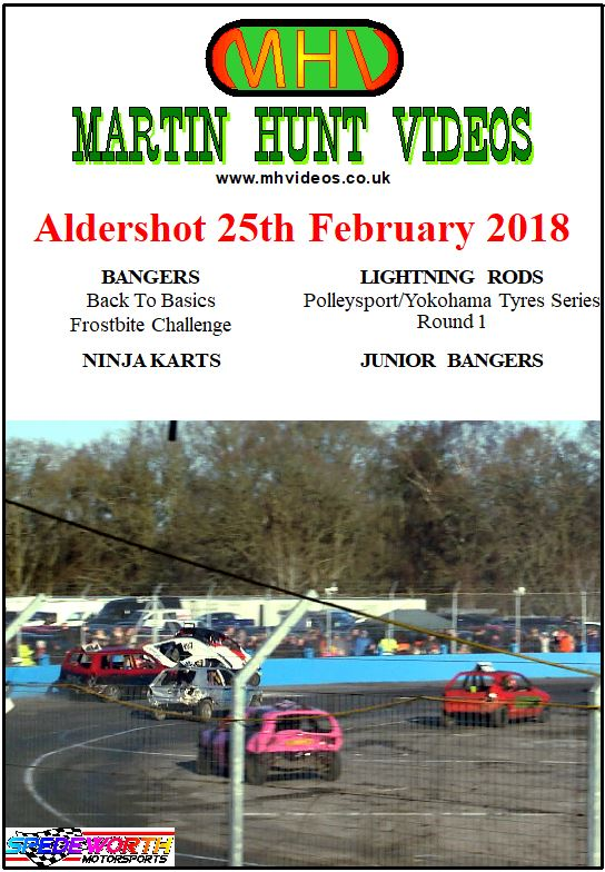 Aldershot 25th February 2018 Bangers Frostbite Lightning Rods