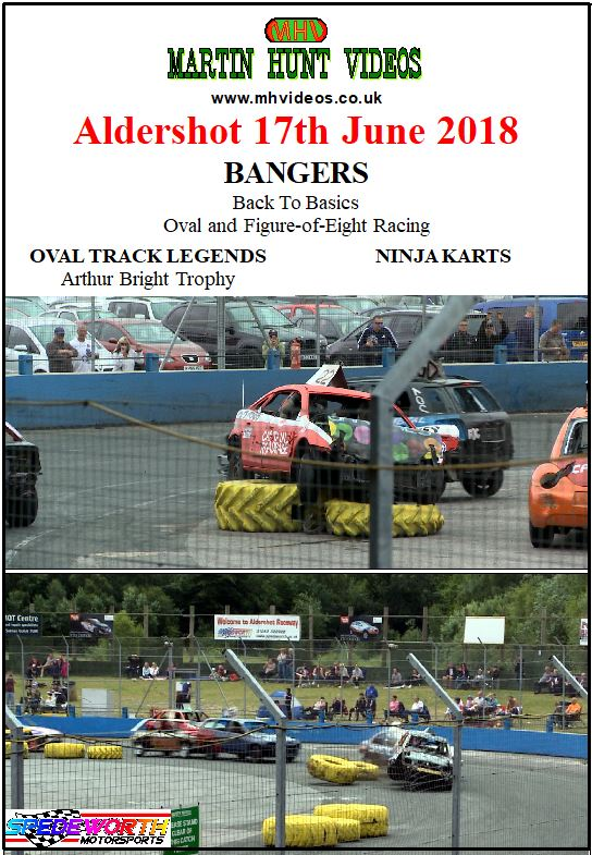 Aldershot 17th June 2018 Bangers Oval and Figure of Eight