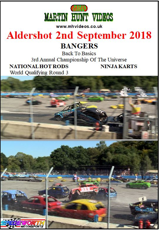 Aldershot 2nd September 2018 National Hot Rods and Bangers