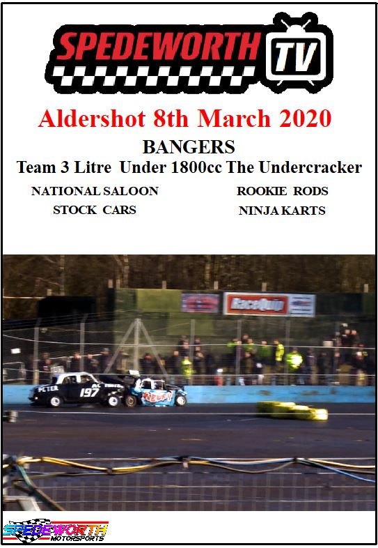Aldershot 8th March 2020 Team 3 Litre Bangers The Undercracker