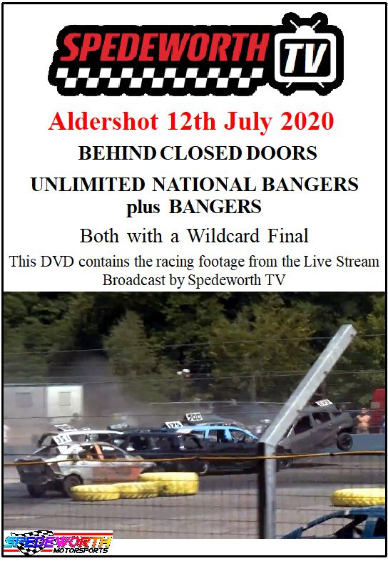 Aldershot 12th July 2020 Bangers Behind Closed Doors