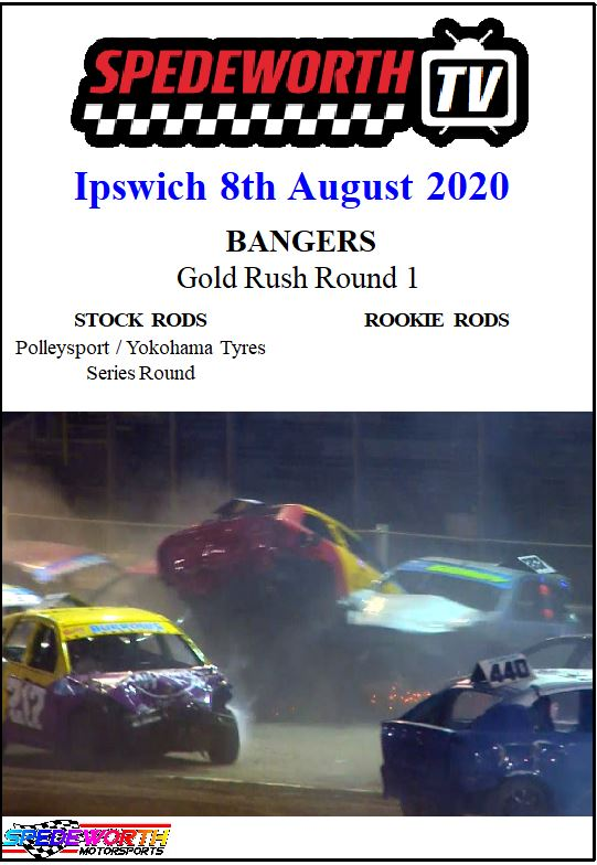 Ipswich 8th August 2020 Bangers Gold Rush