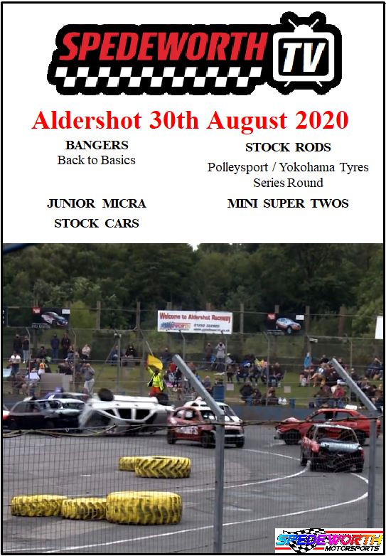Aldershot 30th August 2020