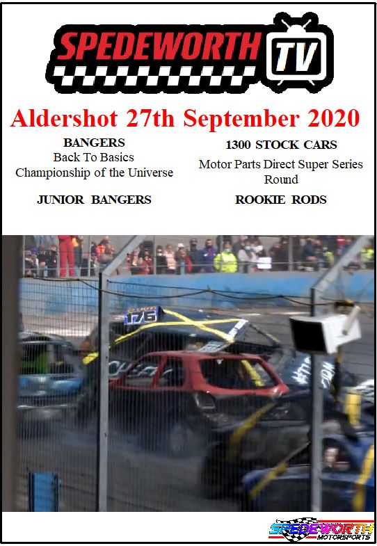 Aldershot 27th September 2020 Bangers Champion of the Universe