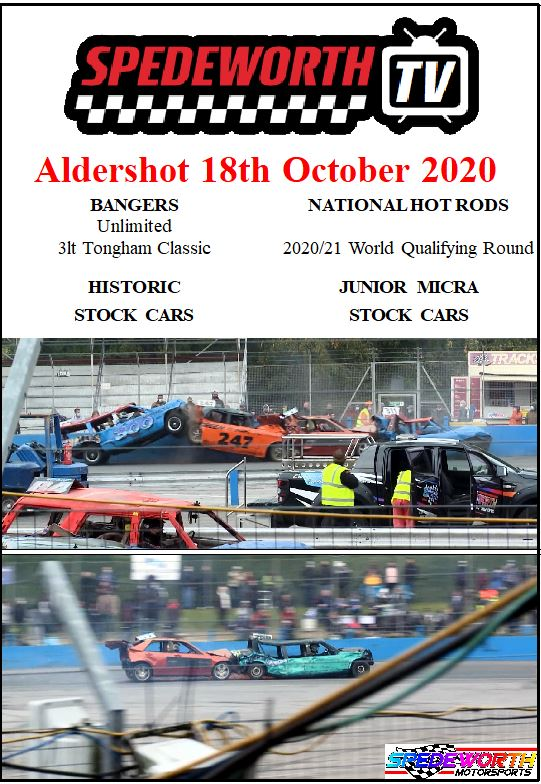 Aldershot 18th October 2020 National Hot Rods