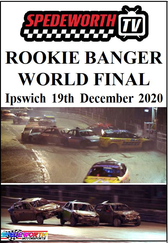 Ipswich 19th December 2020 Rookie Banger World Final