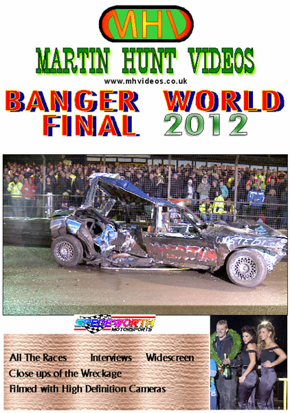 Ipswich 13th October 2012 Banger World Final