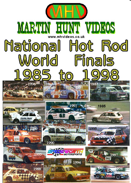 National Hot Rod World Finals 1985 to 1998
