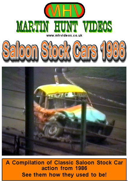 Saloon Stock Cars 1986
